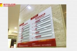 华夏银行导视系统设计