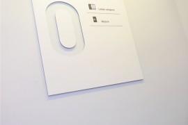 仙女座文化与商业走廊导视系统设计 国外场馆标识牌制作