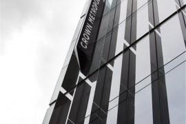墨尔本CrownMetropol酒店标识标牌设计 国外酒店标识标牌制作